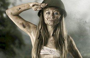 Military Tour Girl