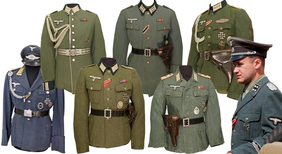 4b9a00d93bc28d Military Tour | WW2 German, American, British, Canadian Uniforms ...