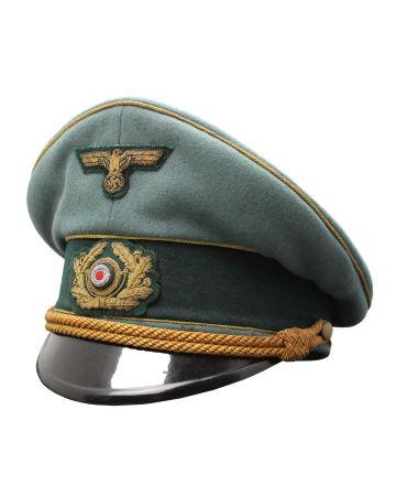 GERMAN HEER GENERAL VISOR CAP