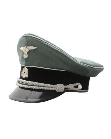 SEPP DIETRICH WAFFEN SS INFANTRY OFFICERS VISOR CAP