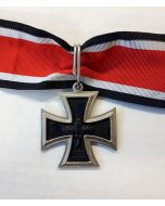1957 KNIGHTS CROSS BLACK & SILVER WITH RIBBON
