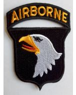 AMERICAN 101st. AIRBORNE DIVISION SLEEVE INSIGNIA PATCH 1 PIECE VERSION