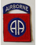 AMERICAN 82nd AIRBORNE BADGE WITH TAB