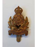 BRITISH INTELLIGENCE CORPS WW2 CAP BADGE