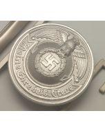 GERMAN WAFFEN-SS OFFICER'S BELT BUCKLE