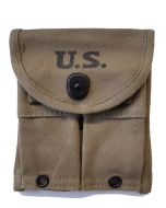 US WWII M1 CARBINE MAGAZINE POUCH DATED 1944