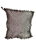 CANADIAN WWII 2 TONE CAMO BROWN AND GREEN MKII HELMET NET