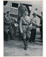 WWII GERMAN LARGE CIGARETTE CARD FROM THE ADOLF HITLER SET, GROUP 62, CARD 1