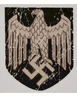 HEER GERMAN HELMET DECAL PRE-AGED