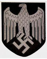 "GERMAN HELMET DECAL HEER "" GRAY OUTLINES"""