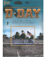 D-DAY 60th Anniversary Commemorative Edition Set of 2 DVD's