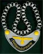 FIELD POLICE GORGET