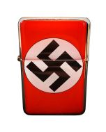 GERMAN NSDAP PARTY FLAG WITH SWASTICA LIGHTER