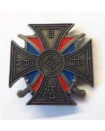 GERMAN 5th DON COSSACK CALVARY REGIMENT CROSS Red