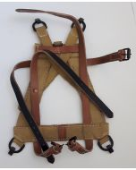 GERMAN A FRAME WITH WEBBING STRAPS - LIGHT BROWN