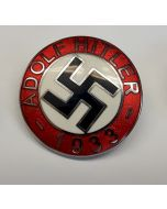 GERMAN ADOLPH HITLER 1933 PIN