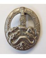 GERMAN ANTI-PARTISAN WAR BADGE Silver