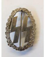 GERMAN DUTCH SS SPORTS BADGE Silver