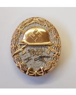 GERMAN JULY 20, 1944 WOUND BADGE GOLD WWII