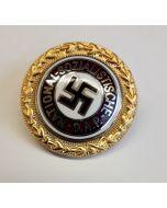 GERMAN NSDAP SMALL GOLD PARTY PIN