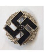 GERMAN PARTY DISTRICT COMMEMORATIVE BADGE