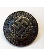GERMAN RADWJ BADGE Silver