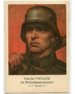 GERMAN TAG DER NSDAP IM GENERALNEMENT POSTCARD
