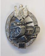 GERMAN TANK BATTLE BADGE 25 ACTIONS Silver