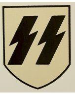 GERMAN WW2 HELMET DECAL SS EARLY FIRST PATTERN