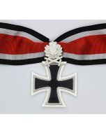 GERMAN WWII KNIGHTS CROSS TO THE IRON CROSS With Oak Leaves And Swords