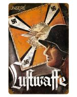LUFTWAFFE METAL SIGN
