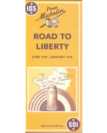 MAP ROAD TO LIBERTY June 1944 - January 1945