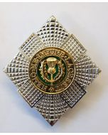 NCO SCOTS GUARDS OFFICER CAP BADGE