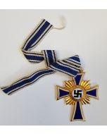 THE MOTHER'S CROSS OF HONOR GOLD Or Ehrenkreuz Der Deutschen Mutter