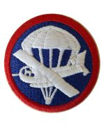 US WW2 AIRBORNE EM COMBINED GLIDER PARACHUTE CAP PATCH