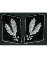 SS-OBERFUHRER (Brigadier) 1st VERSION OFFICER COLLAR TABS