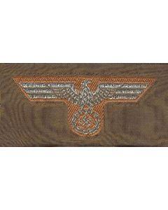GERMAN DAK OFFICERS BEVO CAP EAGLE