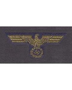 GERMAN NAVY OFFICER BEVO CAP EAGLE