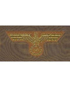 GERMAN NAVY TROPICAL OFFICER BEVO CAP EAGLE