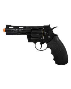 Colt Python 4 Revolver - Black - Includes Speed Loade