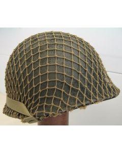 WW11 AMERICAN HELMET NET OD#3 3/4 PATTERN