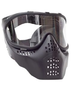AIRSOFT MASK WITH CLEAR LENS