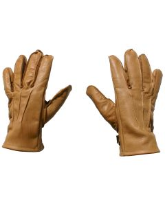 D- DAY U.S. WW2 M-39 TYPE 1 AIRBORNE BROWN LEATHER GLOVES