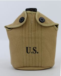 AMERICAN WW2 KHAKI M1910 CANTEEN COVER STANDARD ISSUE