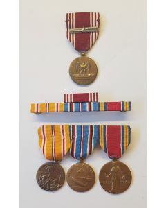 """AMERICAN WWII GROUP AWARDS """"ABBO KENT """""""