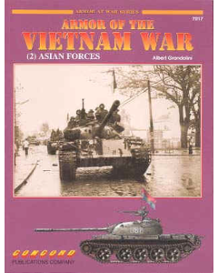 ARMOUR OF THE VIETNAM WAR 2 ASIAN FORCES Armour at War Series Concord Publication
