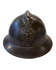 BELGIAN WWII ARMY M1926 ADRIAN COMBAT HELMET