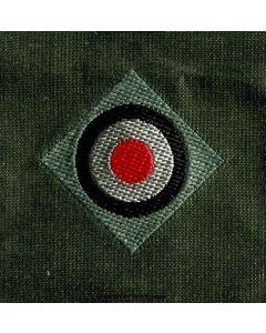 GERMAN BEVO CAP COCKADE - Army EM