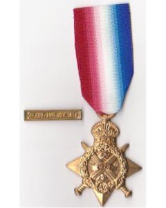 BRITISH 1914 STAR MEDAL