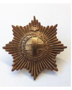 BRITISH COLDSTREAM GUARD CAP BADGE